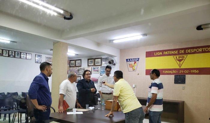 Eleição e Pesse  da diretoria da Liga Patense  de Desportos